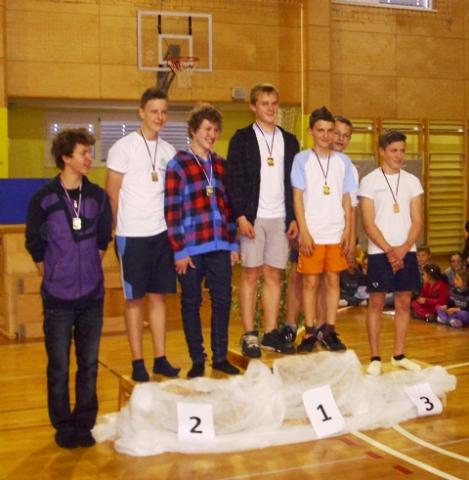 Državni prvaki v gimnastiki