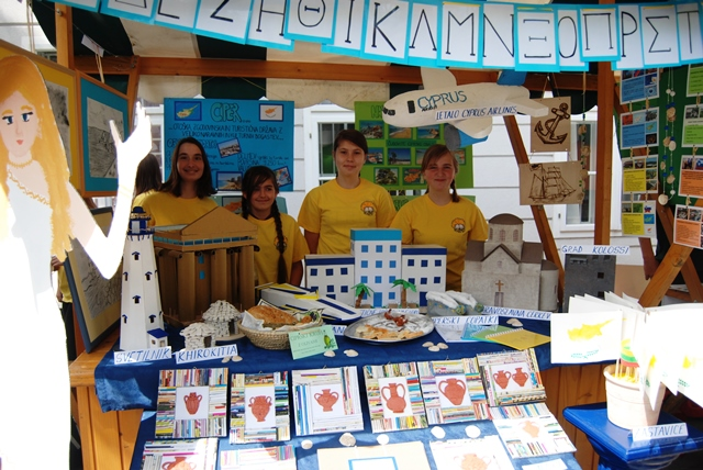 Krmeljski osnovnošolci v evropski vasi